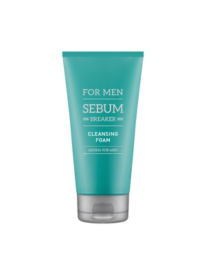 MISSHA For Men Sebum Breaker Cleansing Foam 2