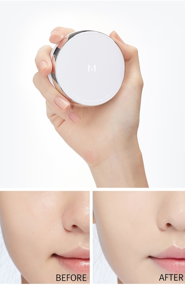 MISSHA_M_Magic_Cushion_before_after