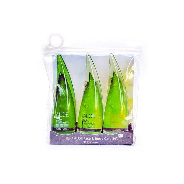 Holika Holika Jeju Aloe Face And Bodycare Set 2