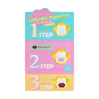 Holika Holika Golden Monkey Glamour Lip 3-Step Kit 1