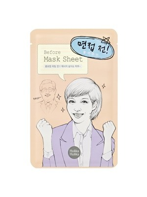 Holika Holika Before Mask Sheet - Before Interview