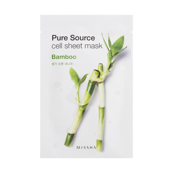 MISSHA Pure Source Cell Sheet Mask_Bamboo