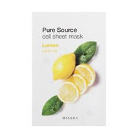 MISSHA Pure Source Cell Sheet Mask_Lemon