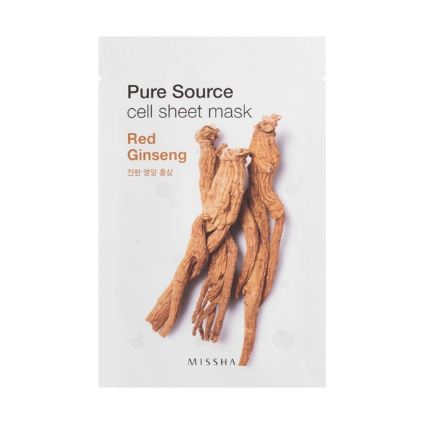 MISSHA Pure Source Cell Sheet Mask_Red Ginseng
