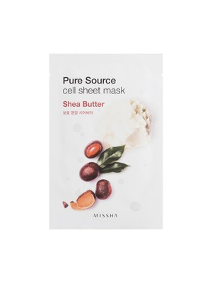 MISSHA Pure Source Cell Sheet Mask_Shea Butter
