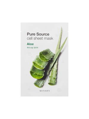 MISSHA Pure Source Cell Sheet Mask_Aloe