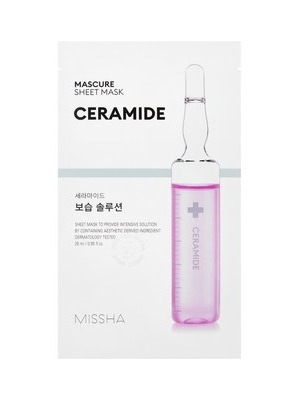 MISSHA_Mascure_Moisture_Barrier_Solution_Sheet_Mask CERAMIDE
