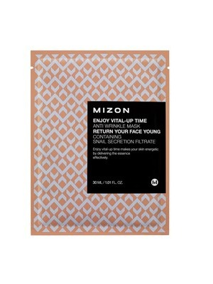 Mizon Enjoy Vital-Up Time - Anti Wrinkle Sheet Mask