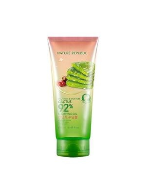 Nature Republic Soothing & Moisture Cactus 92% Soothing Gel 1
