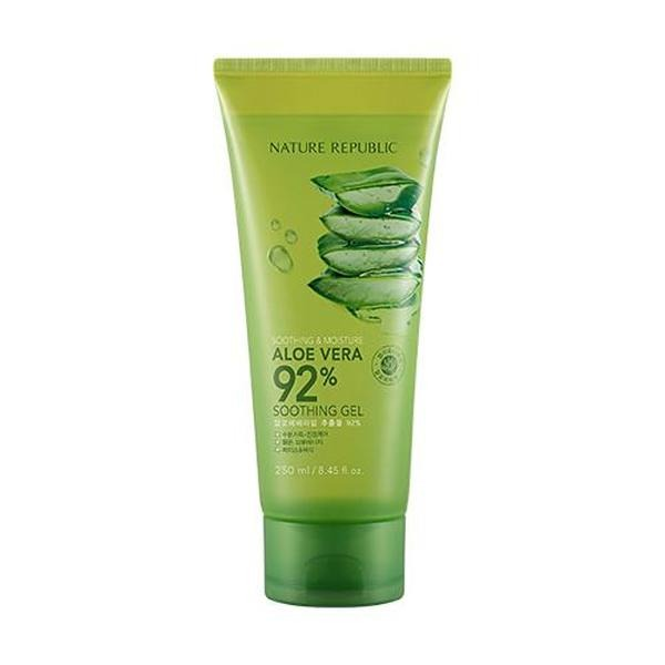 Nature Republic Soothing & Moisture Aloe Vera 92% Soothing Gel Tube 1