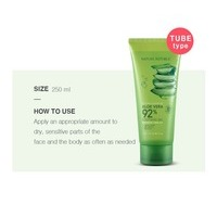 Nature Republic Soothing & Moisture Aloe Vera 92% Soothing Gel Tube 3