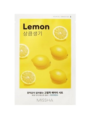MISSHA_Airy_Fit_Sheet_Mask_Lemon