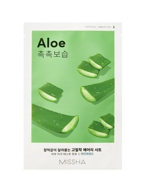 MISSHA_Airy_Fit_Sheet_Mask_Aloe