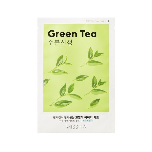 MISSHA_Airy_Fit_Sheet_Mask_Green_Tea