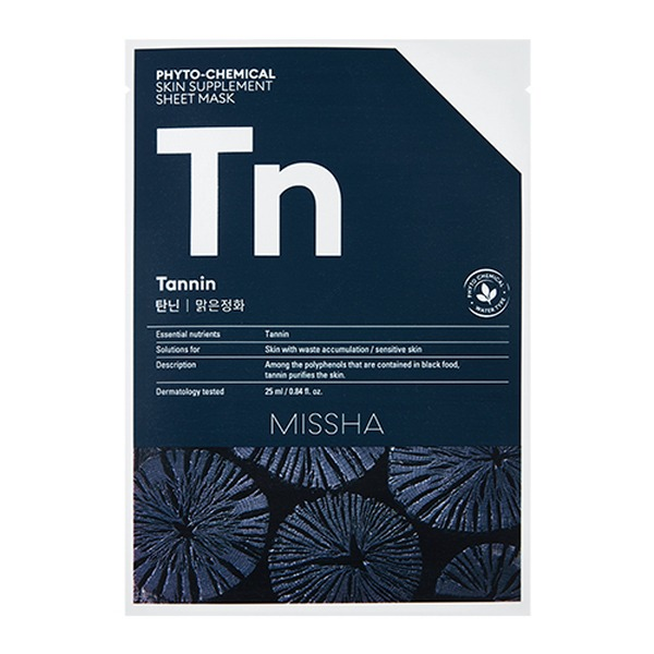 MISSHA_Phytochemical_Sheet_Mask_Tannin