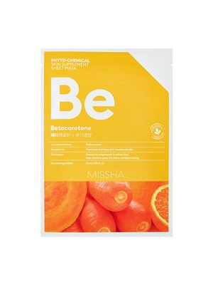 MISSHA_Phytochemical_Sheet_Mask_betacarotene