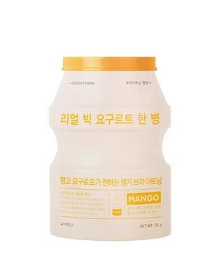 A'PIEU Real Big Yogurt One-Bottle (Mango) 1