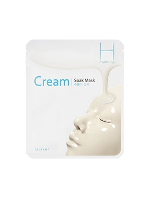 MISSHA - Cream-Soak Mask [Hydrating] 1