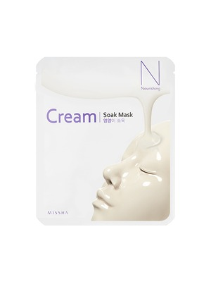MISSHA - Cream-Soak Mask [Nourishing] 1